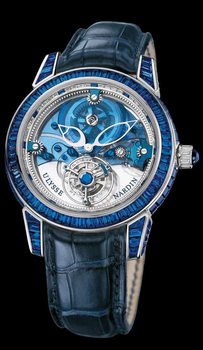 Ulysse Nardin Royal Blue Tourbillon 33